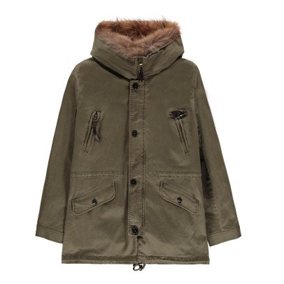 Blonde No.8 Aspen Fur Lined Parka-listing