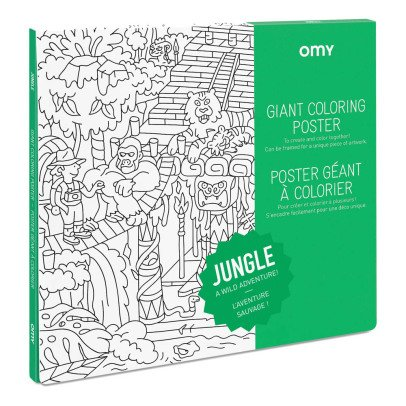 Omy Poster géant à colorier Jungle-listing