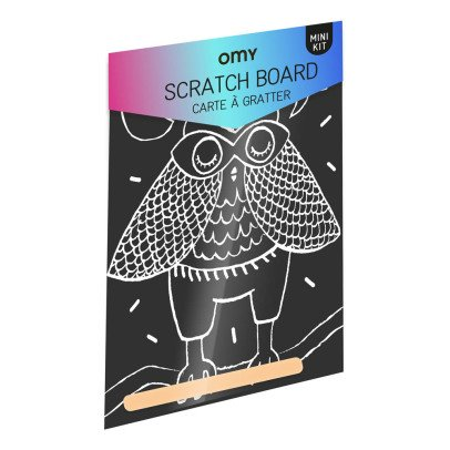 Omy Loula Scratch Board with Wooden Stylus-listing