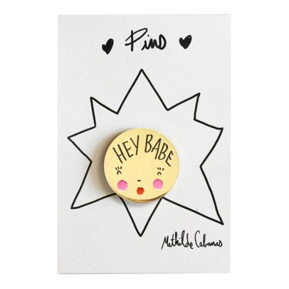 Mathilde Cabanas Hey Babe Brooch-product