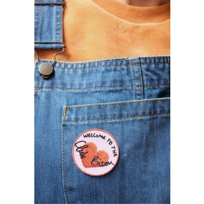 Mathilde Cabanas Club Bisou Iron-On Badge-product