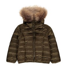 product-Jott Grand Froid Gold Dur Lined Hooded Down Jacket