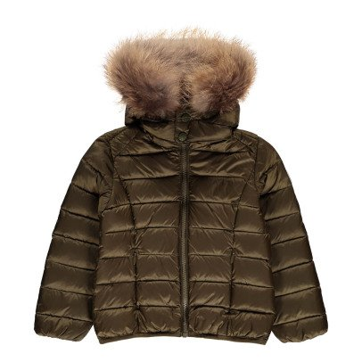 Jott Grand Froid Gold Dur Lined Hooded Down Jacket-listing