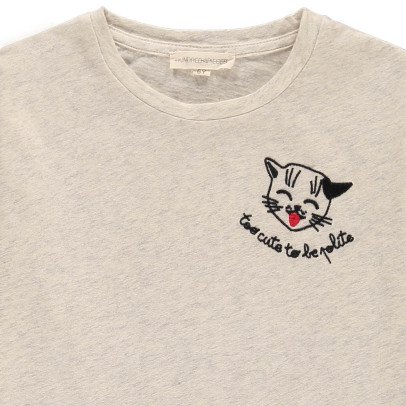Hundred Pieces Too Cute To Be Polite T-Shirt-listing