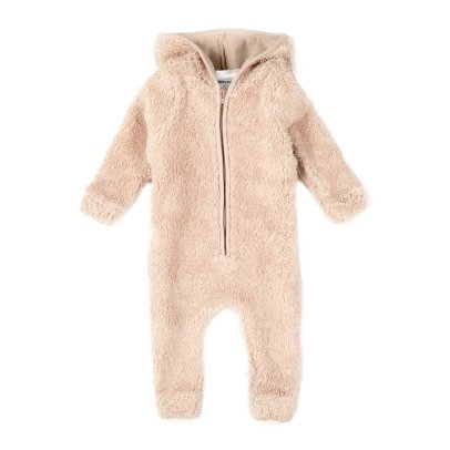 Moumout Otto Sheepskin Effect Hooded Jumpsuit With Zip-product