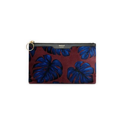 Wouf Velours Pochette Blätter -product