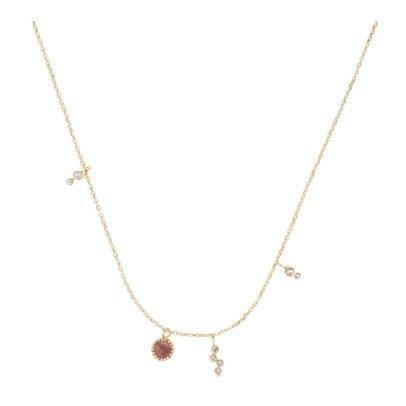 Sale - Quartz Small Necklace - M Me7Rdu
