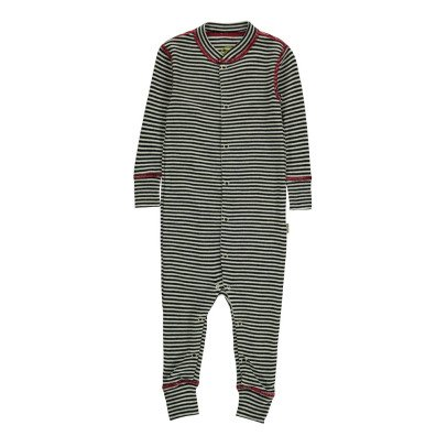 Nui Striped Ribbed Organic Merino Wool Jumpsuit-listing