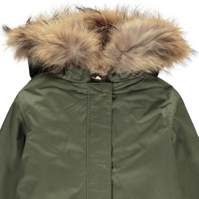 Bonton Merlin Faux Fur Hooded Fur Lined Parka-listing