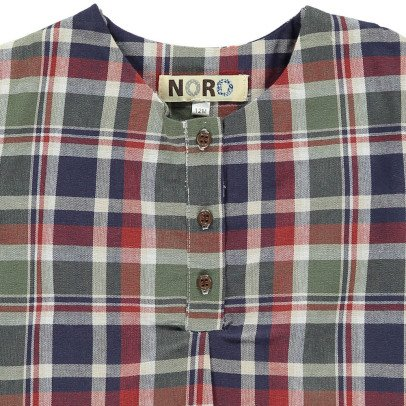 Noro Tom Checked Kurta-listing