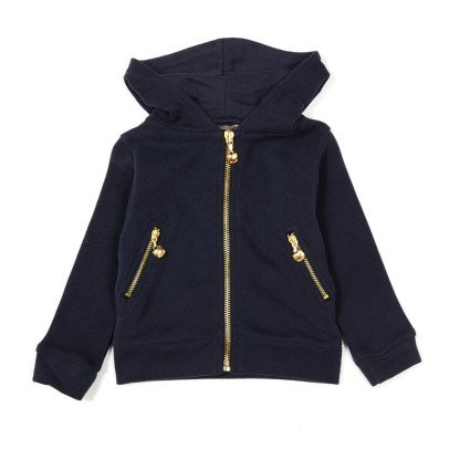 Emile et Ida Zip-Up Ear Hoodie-product