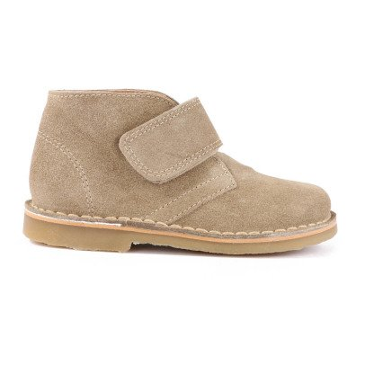 Petit Nord Velcro Suede Desert Boots-listing