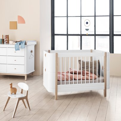 Oliver Furniture Wood Mini+ Bed 68x122/162cm-listing