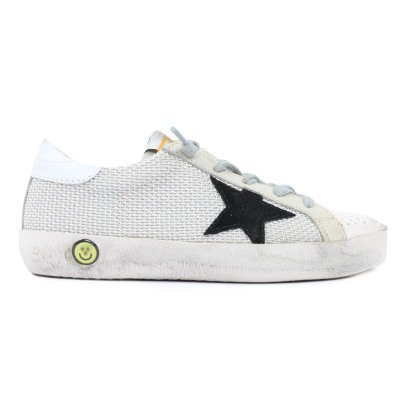 Golden Goose Superstar Overstitched Low-Top Trainers-listing