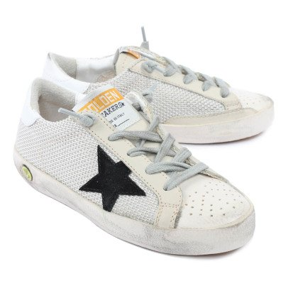Golden Goose Deluxe Brand Superstar Overstitched Low-Top Trainers-listing