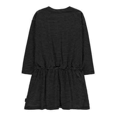 Little Marc Jacobs Swan Patch Striped Dress-listing