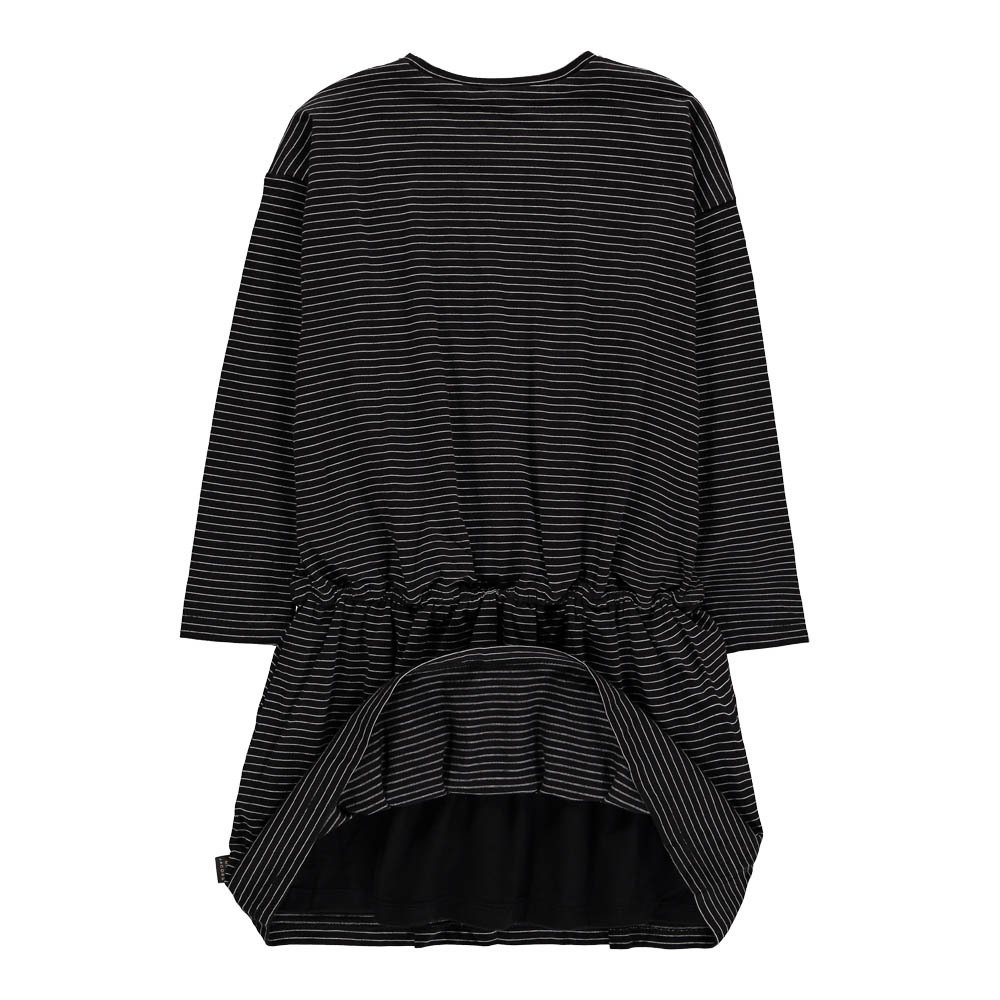Swan Patch Striped Dress-product