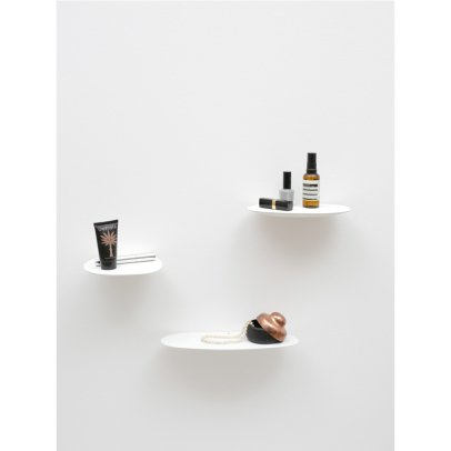 Moustache Isola Ceramic Shelf, Studio Brichetziegler - Set of 3-listing