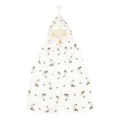 Rose in April Loulou Fawn Bath Cape-listing