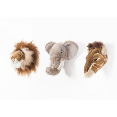 Wild & Soft Safari Trophies - Set of 3-listing