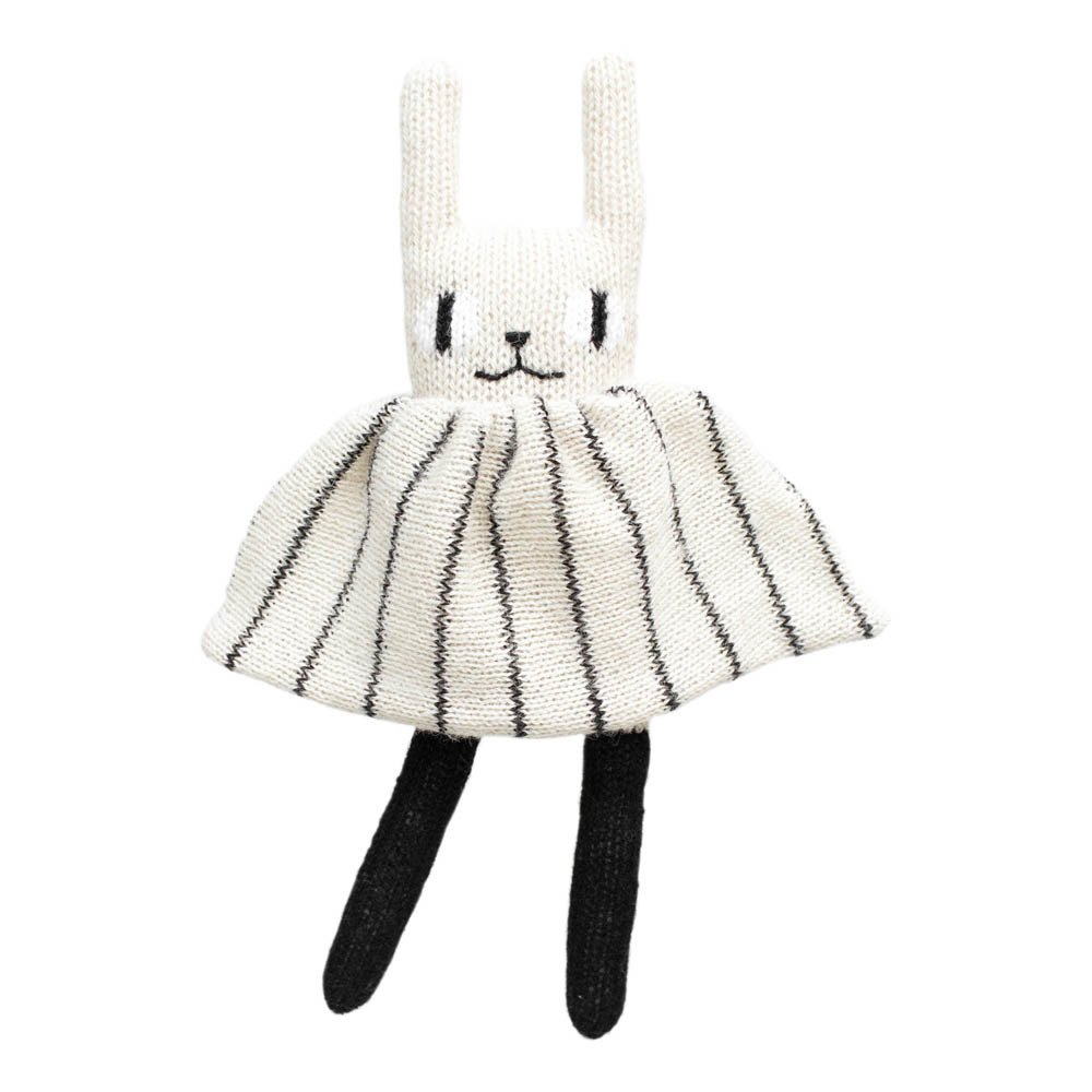 Peluche Conejo Blanco Main Sauvage Juguetes y Hobby Infantil