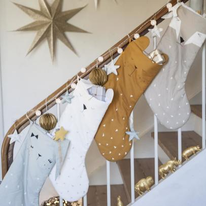 Fabelab Polar Bear Christmas Stocking-listing