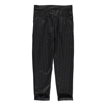 Polder Revival Lurex Striped Trousers-listing