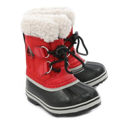 Sorel Yoot Pac Nylon Fur Lined Lace-Up Boots-listing