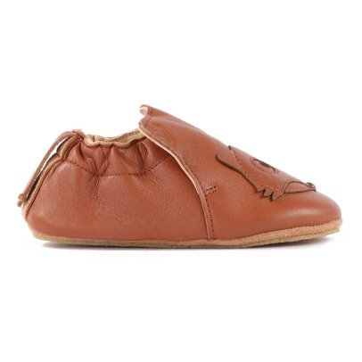 Easy Peasy BluBluFox Leather Slippers-listing