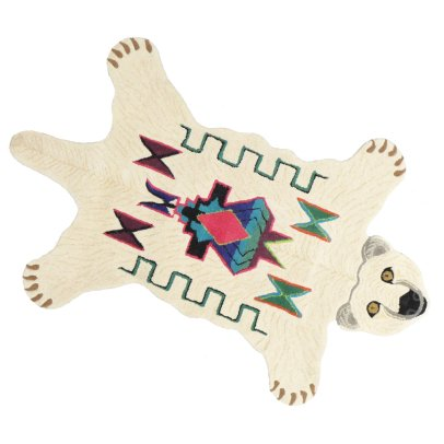 Smallable Home Fleece Bear Rug-listing