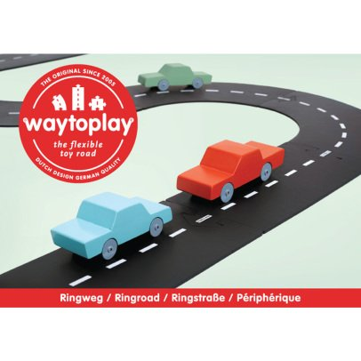 Waytoplay Circuit modulable pour voitures - 12 pièces-listing