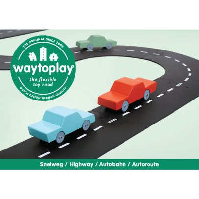 Waytoplay Circuit modulable pour voitures - 24 pièces-listing