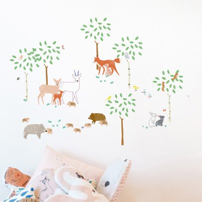 MIMI'lou Walk In The Forest Sticker-listing