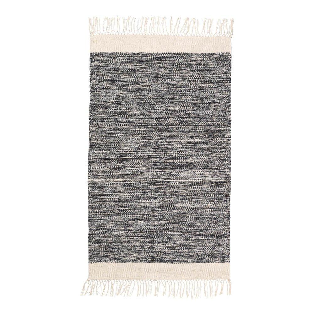 Tappeto bagno in cotone Nero Ferm Living Design Adulto
