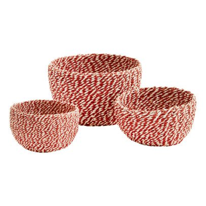 Madam Stoltz Paper Baskets - Set of 3-listing