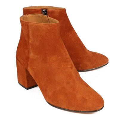 Emma Go Elna Suede Heeled Ankle Boots-listing