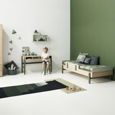 etag res de rangement rose poudr flexa play design enfant. Black Bedroom Furniture Sets. Home Design Ideas