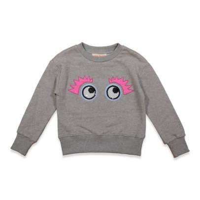 ANNE KURRIS Indi Embroidered Eye Sweatshirt-listing