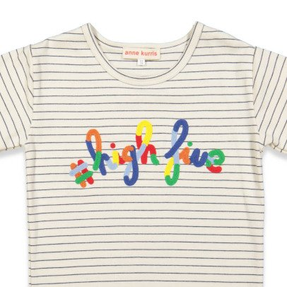 "ANNE KURRIS Gestreiftes T-Shirt High Five"" Lou-listing"