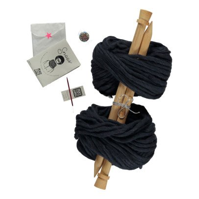 Peace and Wool Kit Diy Tricot Snoos	-listing