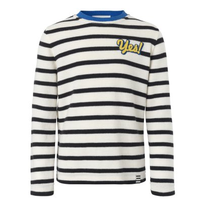 Mads Norgaard Yes Kaptina Striped T-Shirt-listing