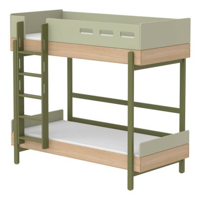 Flexa Play Popsicle Bunk Beds With Straight Ladder 90x200cm-listing