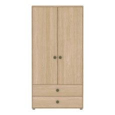 product-Flexa Play Armoire haute 2 portes et 2 tiroirs Popsicle