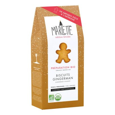 Marlette Organic Gingerman Biscuit Kit With Cutters-listing