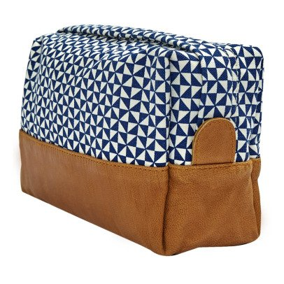 Bakker made with love Trousse de Toilette Big Cuir et Canvas Sails-listing
