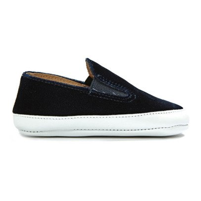 Chaussons Slip On Velours