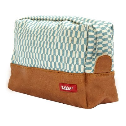 Bakker made with love Trousse de Toilette Big Cuir et Canvas Books-listing