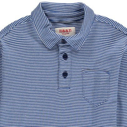MAAN Lenny Striped Polo-listing