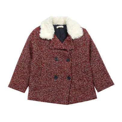 Hundred Pieces Tweed Coat-listing