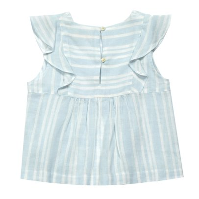 MAAN Savoy Ruffled Stripe Top-listing